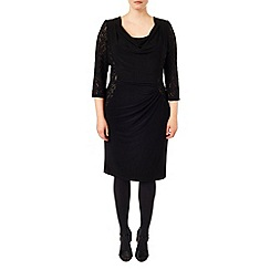 Studio 8 - Sizes 16-24 Clara cowl dress