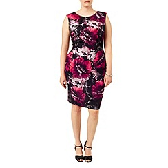 Studio 8 - Sizes 16-24 Multi-coloured pippa print dress