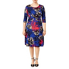 Studio 8 - Sizes 16-24 Multi-coloured lauren floral dress