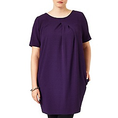 Studio 8 - Sizes 16-24 Purple olivia tunic