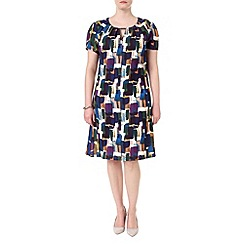 Studio 8 - Sizes 16-24 Multi-coloured mariette dress