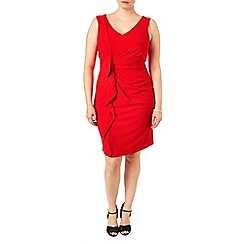 Studio 8 - Sizes 16-24 Red georgie dress