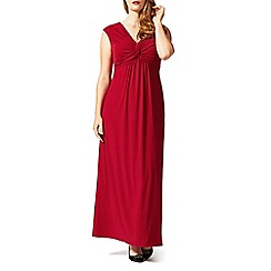 Studio 8 - Sizes 16-24 Red sandrine maxi dress