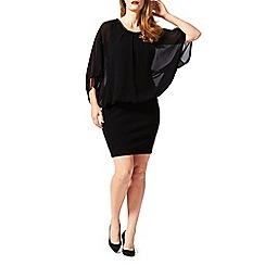 Studio 8 - Sizes 16-24 Black emily knit dress