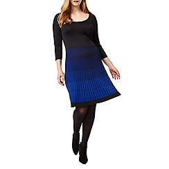 Studio 8 - Sizes 16-24 Blue karen dress
