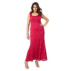 Studio 8 - Raspberry christine maxi dress