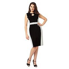 Studio 8 - Black and Ivory alberta dress