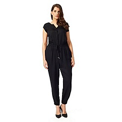Studio 8 - Sizes 12-26 Charcoal langley jumpsuit