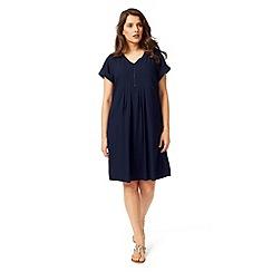 Studio 8 - Sizes 12-26 Navy kinsley dress