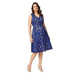 Studio 8 - Sizes 12-26 Cobalt rimini dress