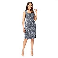 Studio 8 - Sizes 12-26 Blue petra dress