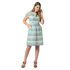 Studio 8 - Sizes 12-26 Blue josette dress