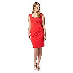 Studio 8 - Sizes 12-26 Red denver dress