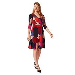 Studio 8 - Sizes 12-26 Multi-coloured aliza dress