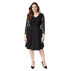 Studio 8 - Sizes 12-26 Black avalon dress