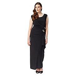 Studio 8 - Sizes 12-26 Black remi maxi dress
