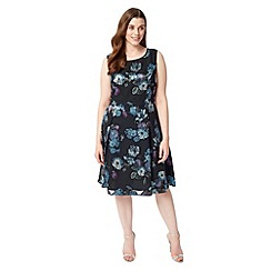 Studio 8 - Sizes 12-26 Multi-coloured lucille dress
