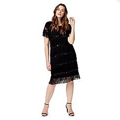 Studio 8 - Sizes 12-26 Black lexia tunic dress