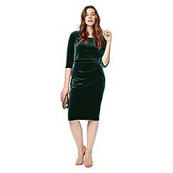 Studio 8 - Sizes 12-26 Green eva dress