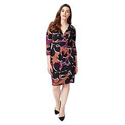 Studio 8 - Sizes 12-26 Stone and Black jenelle dress