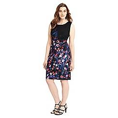Studio 8 - Sizes 12-26 Multi-coloured davina dress