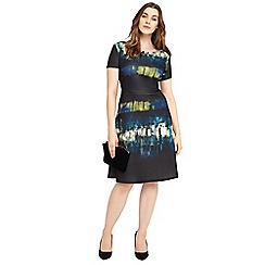 Studio 8 - Sizes 12-26 Multi-coloured cameron dress