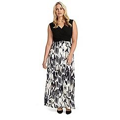 Studio 8 - Sizes 12-26 federica maxi dress