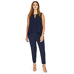 Studio 8 - Sizes 12-26 Navy alaina jumpsuit