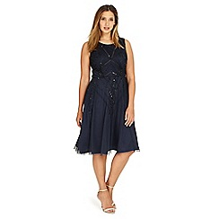 Studio 8 - Sizes 12-26 Navy erin dress
