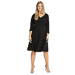 Studio 8 - Sizes 12-26 Black rochelle dress