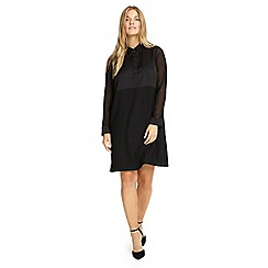 Studio 8 - Sizes 12-26 Black helina shirt dress
