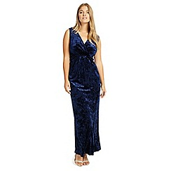 Studio 8 - Sizes 12-26 Navy katie maxi dress