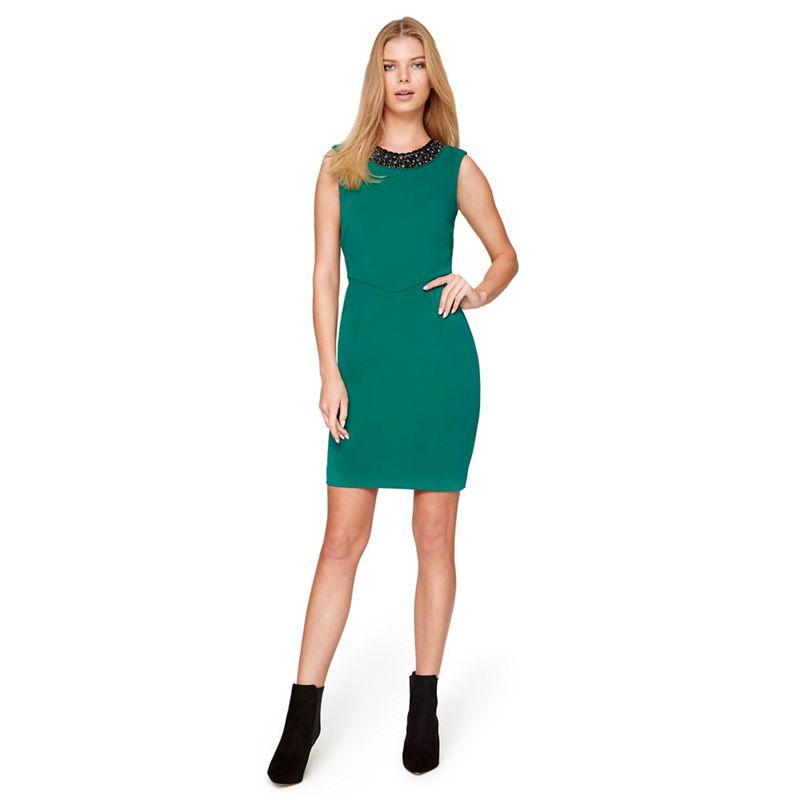 Damsel in a dress - Green Persian Embellished Dress
