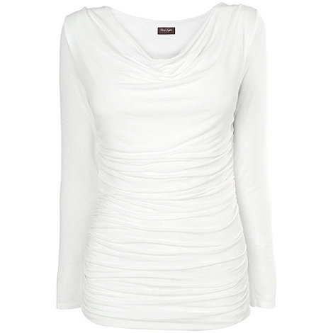 Phase Eight - White Tallie Long Sleeve Top