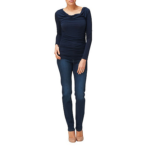 Phase Eight - Navy Tallie Long Sleeve Top
