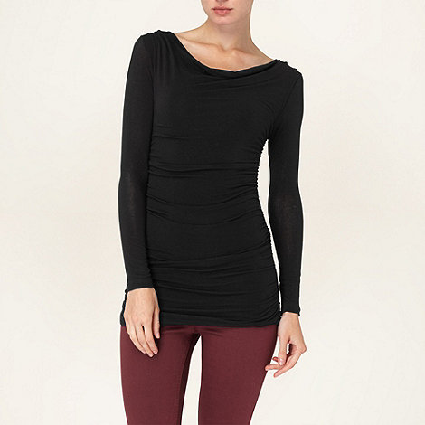 Phase Eight - Black tallie top