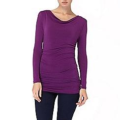 Phase Eight - Purple tallie top