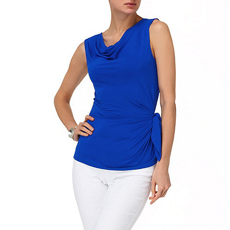 Phase Eight - Periwinkle debbie side tie top