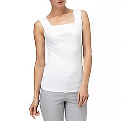 Phase Eight - White carla cowl top