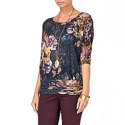 Phase Eight - Multi-coloured windsor floral top