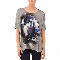 Phase Eight - Grey Beth Floral Top