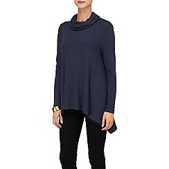 Phase Eight - Navy nora roll neck top