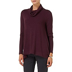 Phase Eight - Port nora roll neck top