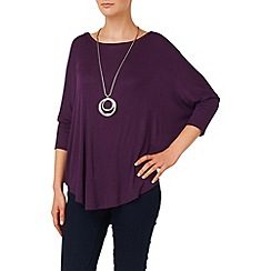 Phase Eight - Grape catrina top