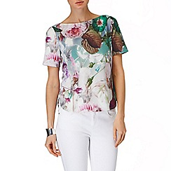 Phase Eight - Multi-coloured bobbi botanical top