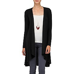 Phase Eight - Black lea wool mix cardigan