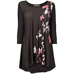 Phase Eight - Black butterfly tegan top