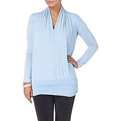 Phase Eight - Pale Blue gwyneth v neck dana top
