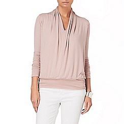 Phase Eight - Pale Pink gwyneth v neck dana top