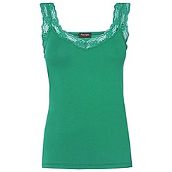 Phase Eight - Green lace trim camisole